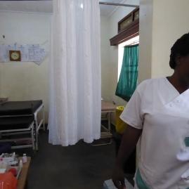 Die Geburtenstation des Krankenhauses