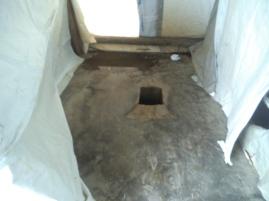 Unsere Toilette