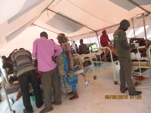 Die neue Krankenstation in Rwamwanja