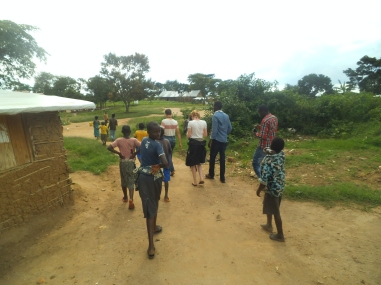 Ein Spaziergang durch die Dörfer