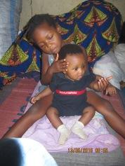 Meine kleine Schwester und mein kleiner Bruder