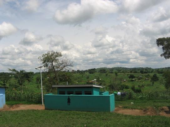 Unsere Toilette für ca. 700 Personen