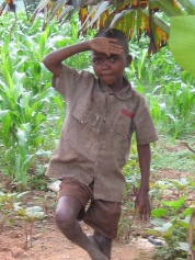 Mein Bruder in unserem Feld