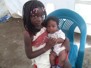 Meine Schwester mit Naillah