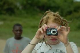 Fotospaziergang- Chantal macht ein Foto