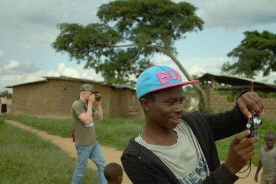 Manchmal fotografieren auch andere Jugendliche mit unseren Kameras